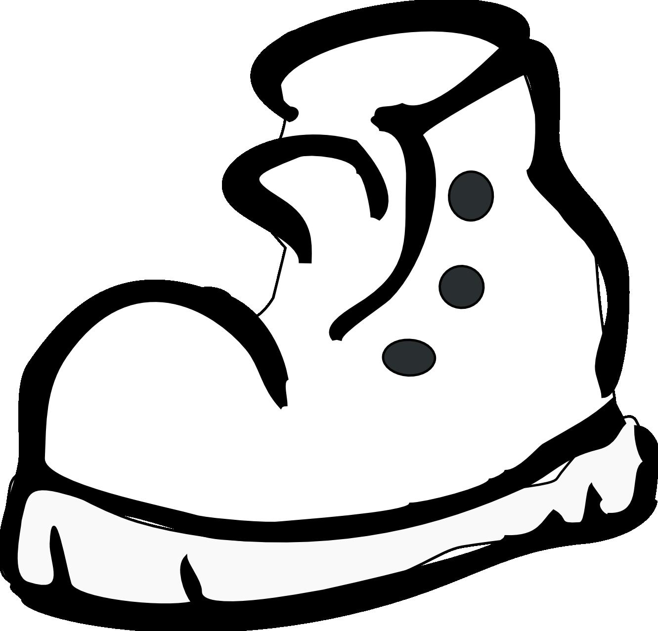 ... outline clip art shoe print outline clip art sneaker outline clip art