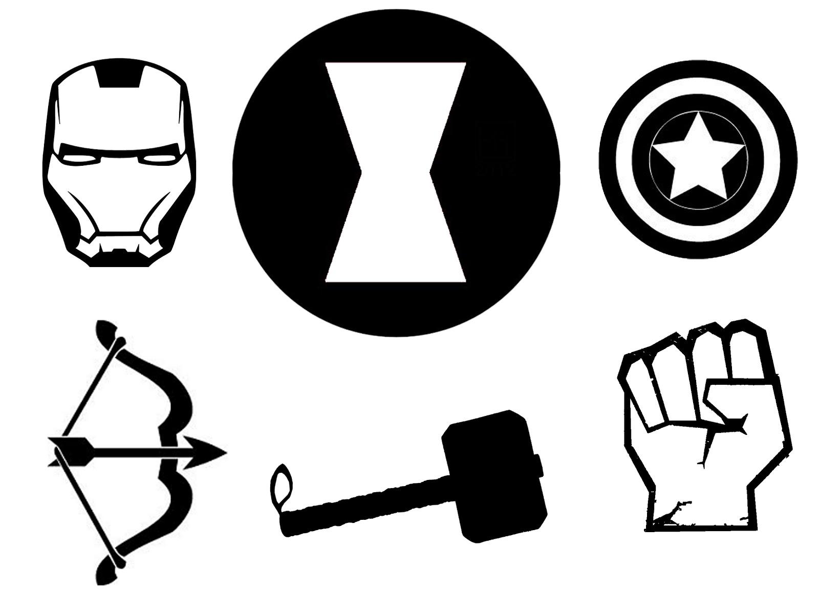 Avengers Symbol Images - ClipArt Best