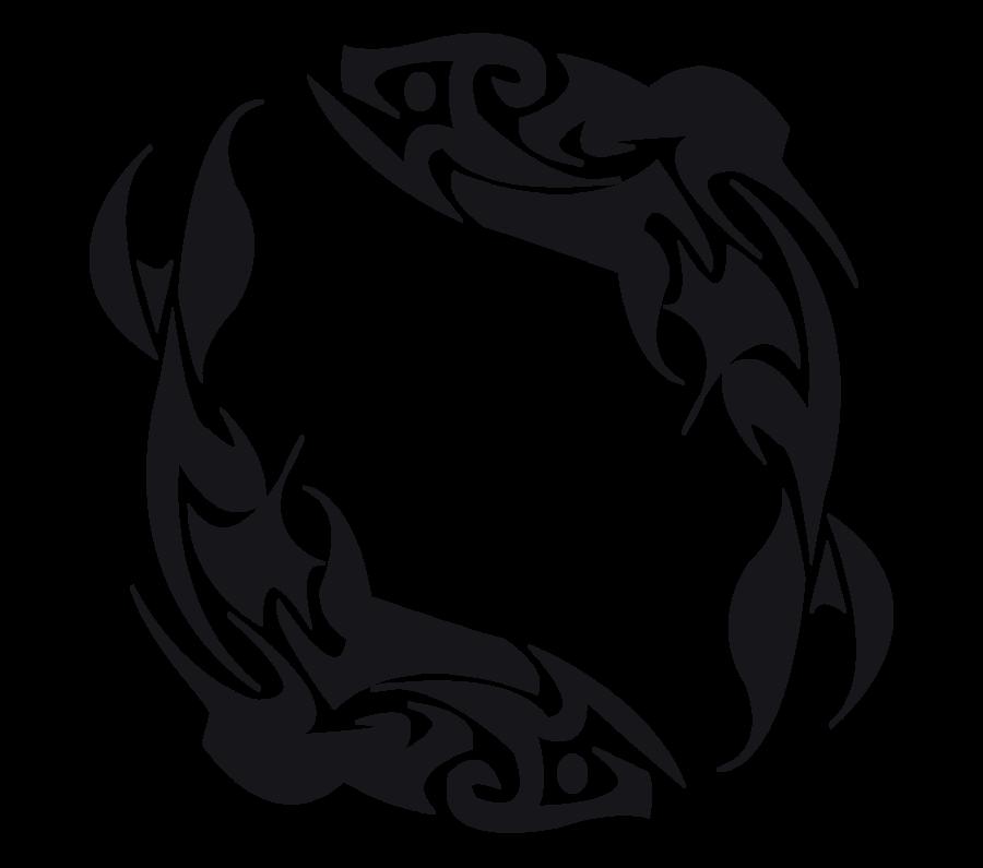 Tattoo Designs Clipart: Skeleton Fish Tattoo