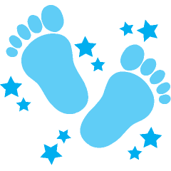 Clip Art Baby Footprints Clipart free baby footprints clip art clipart best footprint free