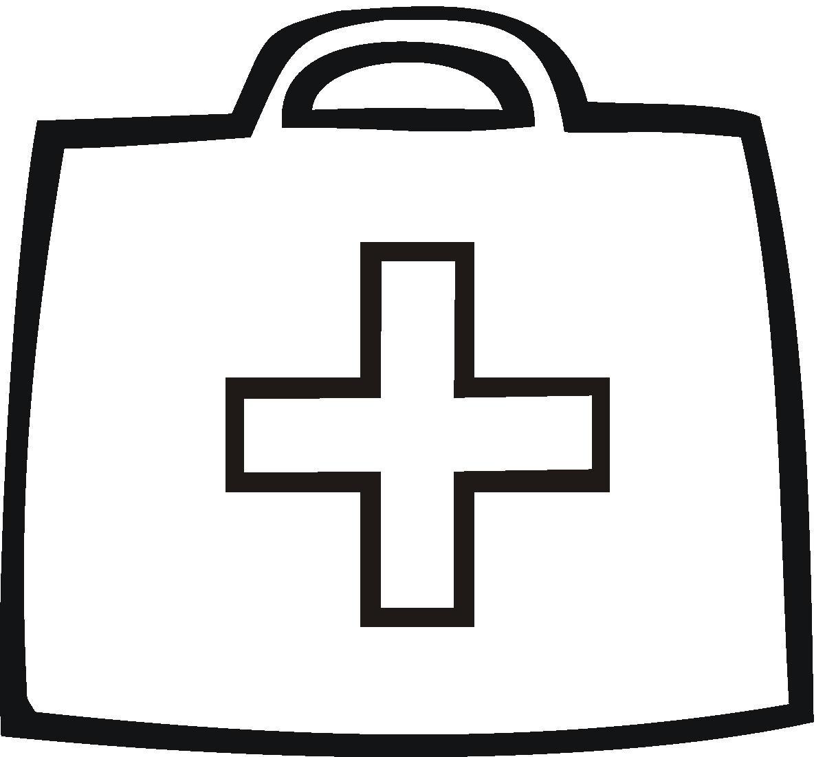 Kids First Aid Kit Clip Art