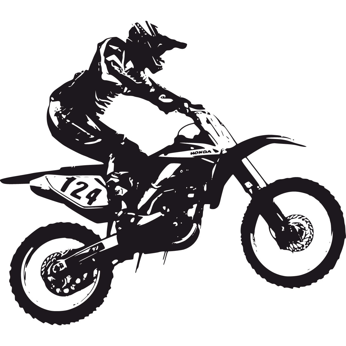 Design a bike sticker - Bike Stickers Design Clipart Best