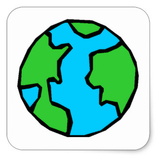 Easy draw the planet earth pictures to pin on pinterest for Easy to draw earth