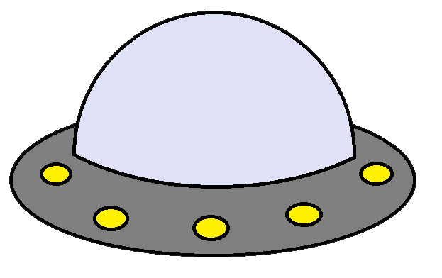 Spaceship Outline