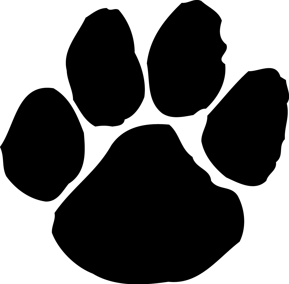 Vector Tiger Paw - ClipArt Best