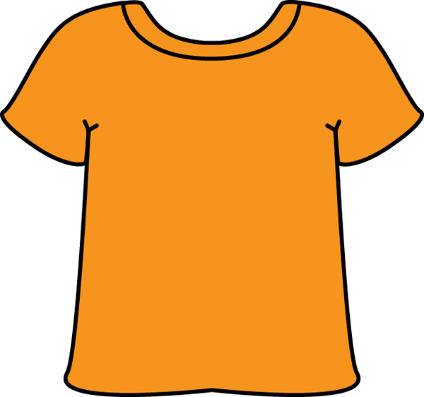 T-shirt shirt template for kids clipart - Cliparting.com