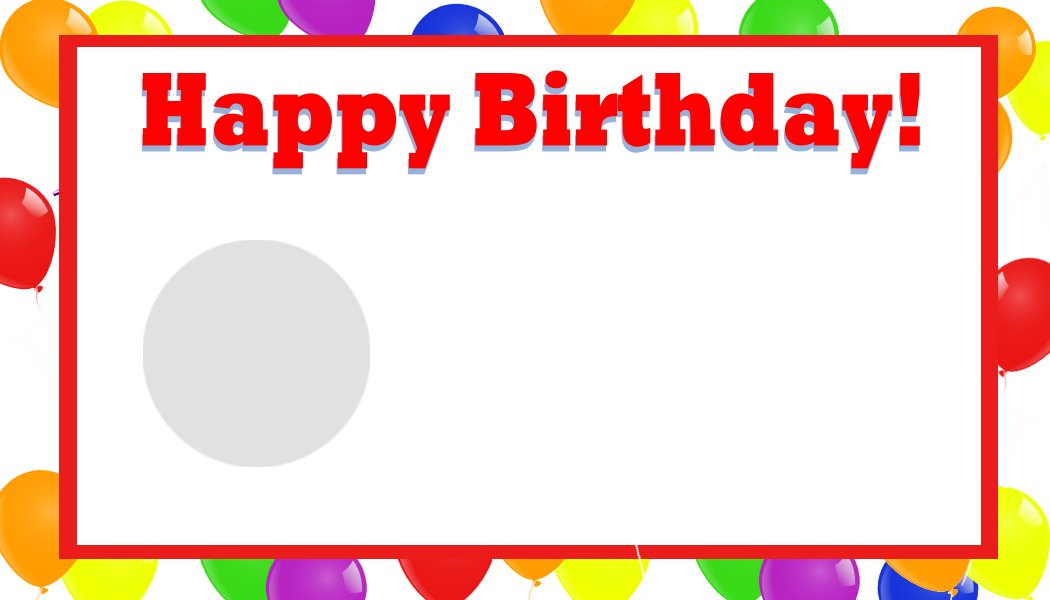 Birthday Cards Template gangcraftnet – Greeting Card Templates