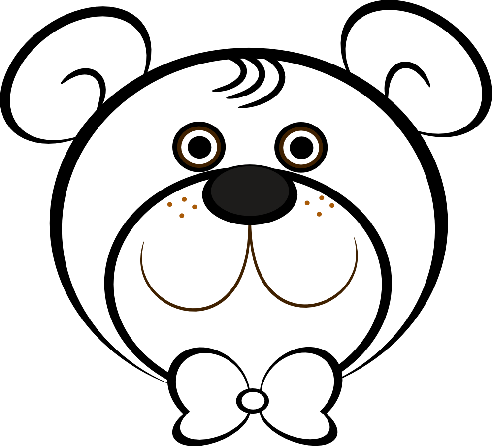 panda bear face coloring pages - photo#22