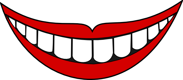 Cartoon smile clipart