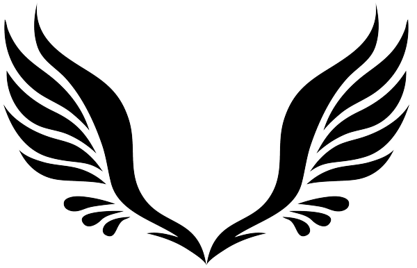 Simple Wing Tattoo Designs - ClipArt Best