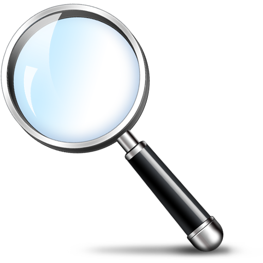 Magnifying glass search icon (PSD) | GraphicsFuel.