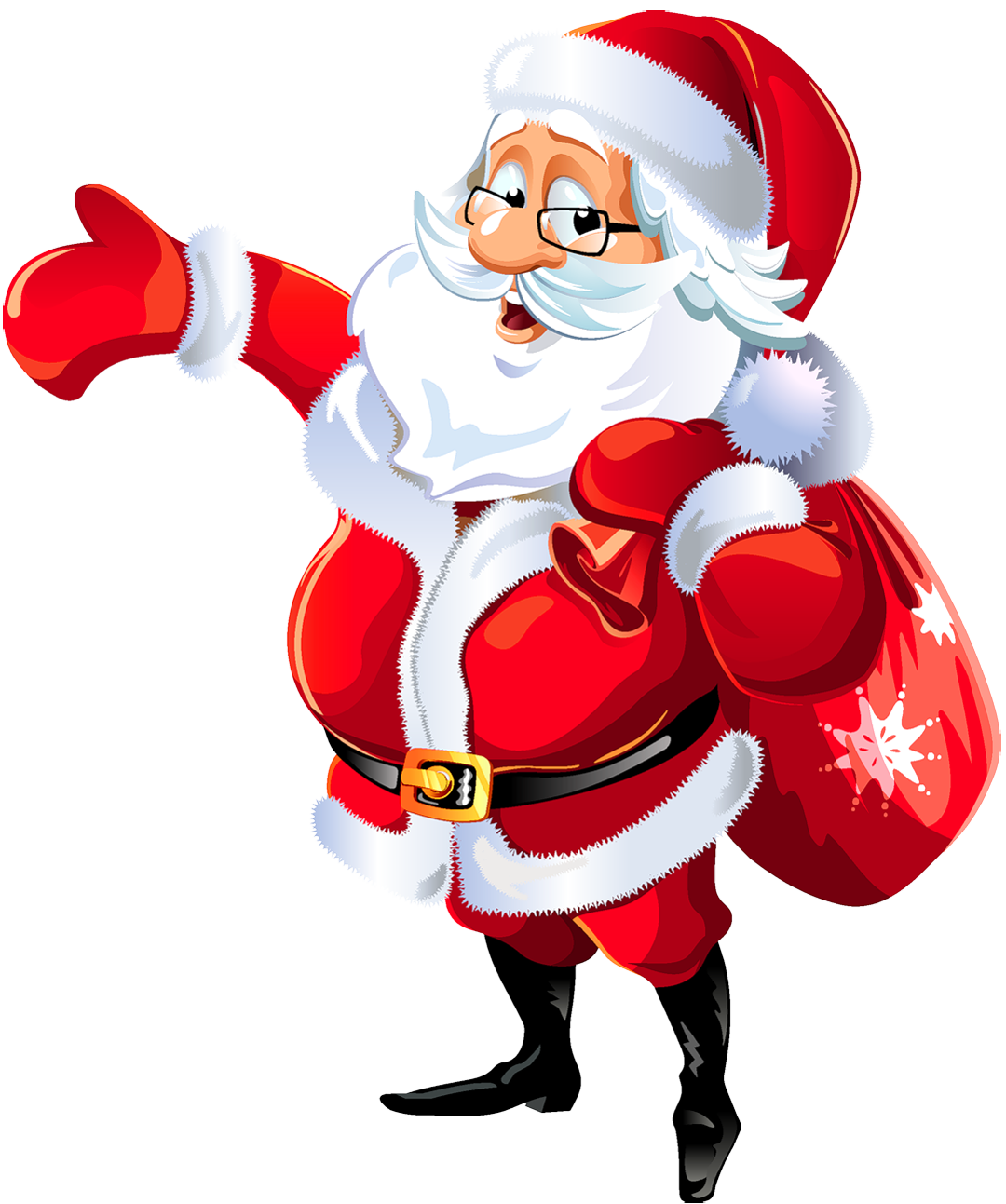 free clip art father christmas - photo #24