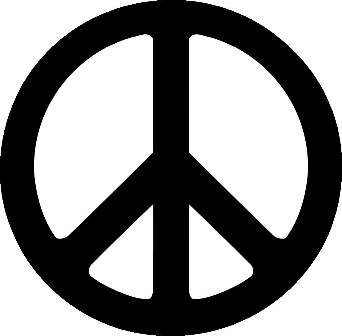 peace symbol vector clipart best