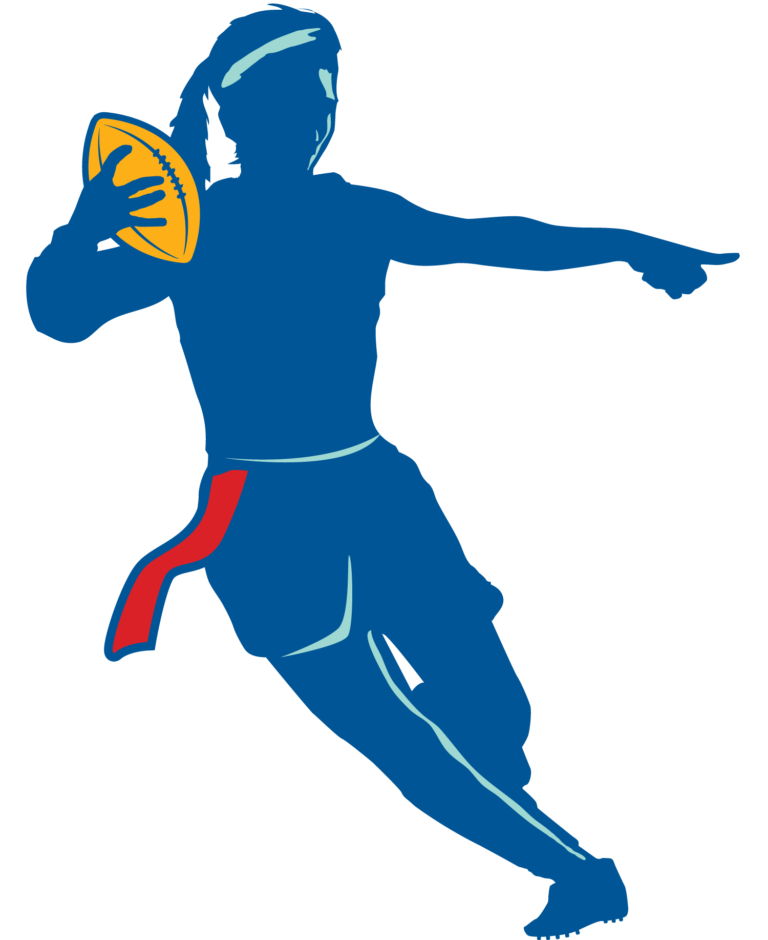 Flag Football Clip Art 13 flag football clipart.