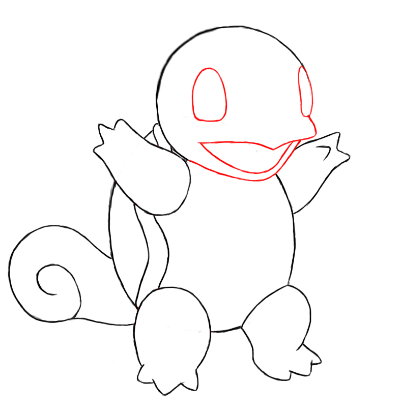 How To Draw Squirtle | Draw Central