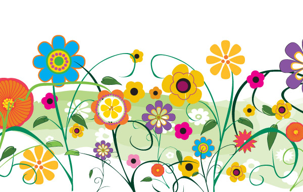 clipart garden flowers - photo #15