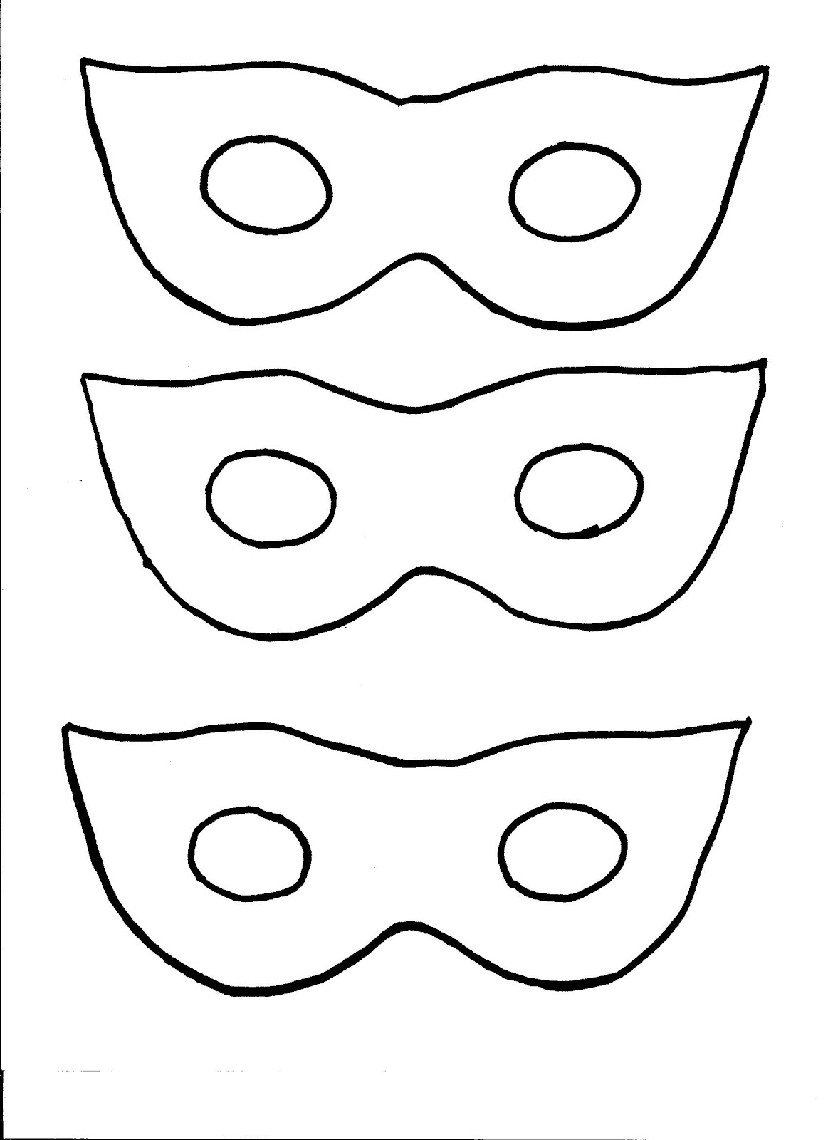 Exhilarating image in free printable superhero mask