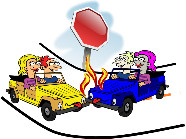 car crash cartoon pictures clipart best car crash clipart car crash clip art black and white