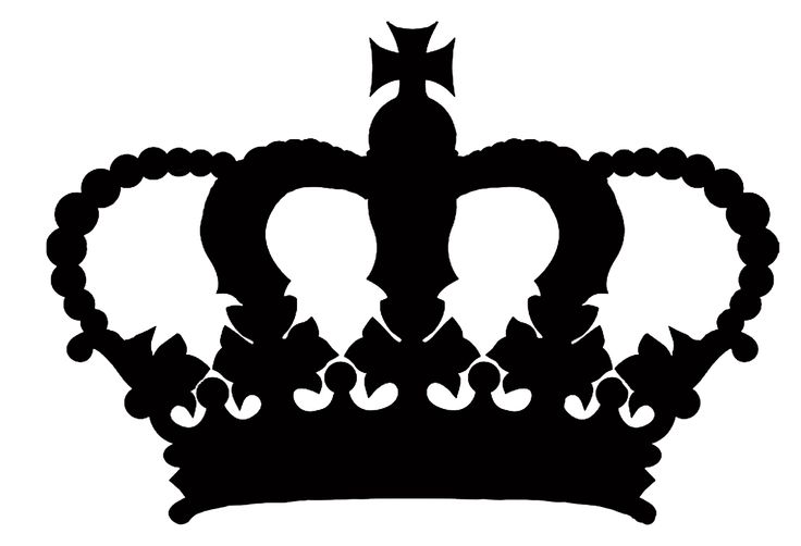 Silhouette Of A Crown Clipart Best