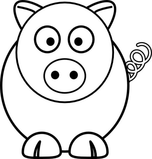 Simple Clip Art Line : Simple line drawings for kids clipart best