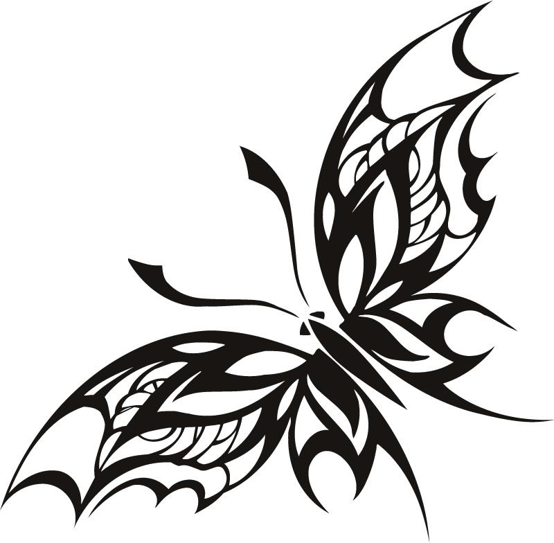 Tribal Art Butterfly ClipArt Best