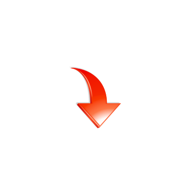 arrow_down_12, red, arrow, down, download, icon, 128x128 ...