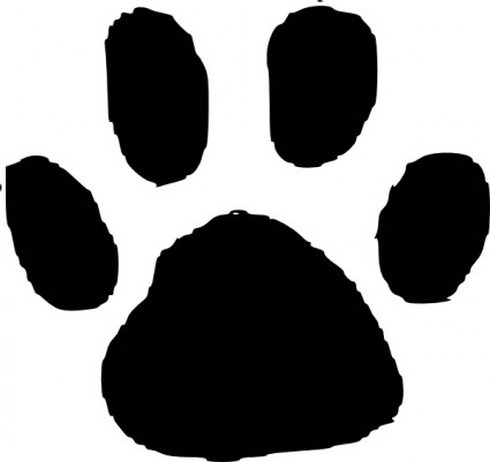 Animal Footprint Clip Art | Free Vector Download - Graphics,