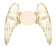 Printable Angel Wings Template - ClipArt Best