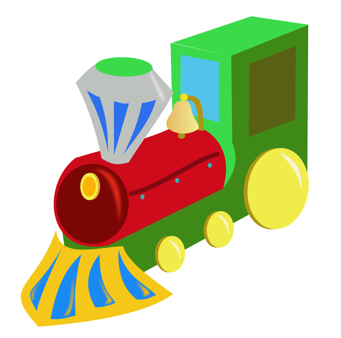 Toy Train Clipart - ClipArt Best