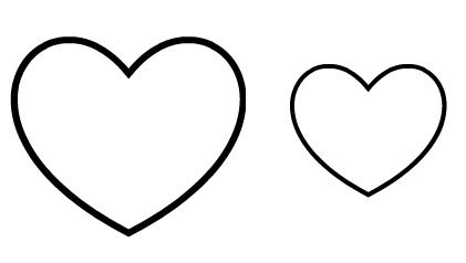 43 heart template free printable . Free cliparts that you can download ...