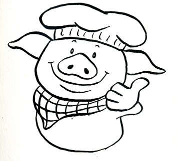 Pig Logo Design - ClipArt Best