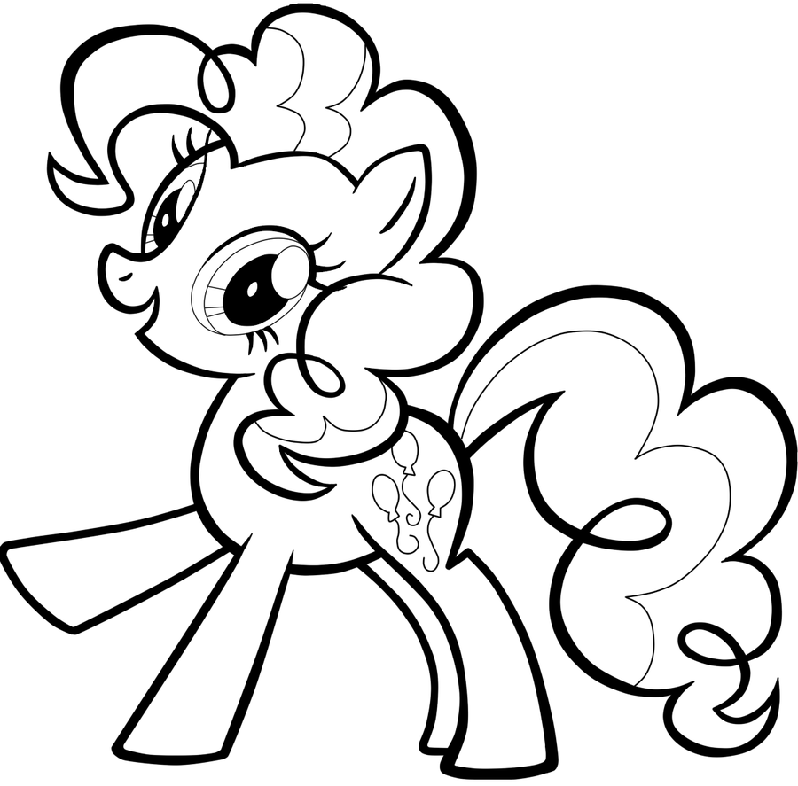 my little pony coloring pages pinkie pie | The Coloring Pages