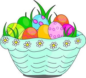 Clipart Easter Basket - ClipArt Best