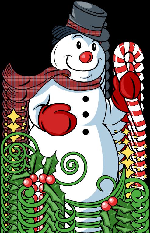clipart snowman free - photo #45