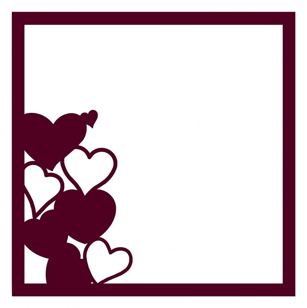 Hearts Border Clip Art Clipart preview