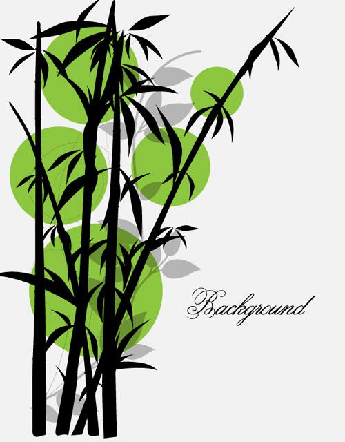 Bamboo Art Design : Bamboo vector clipart best