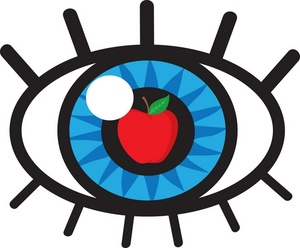 "Eye Clipart Image - ""Apple of my Eye"" concept drawing - human eye ..."
