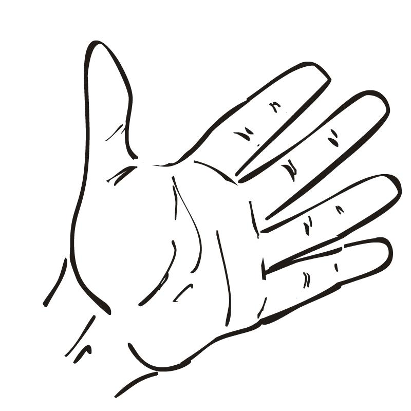 printable hand template for kids