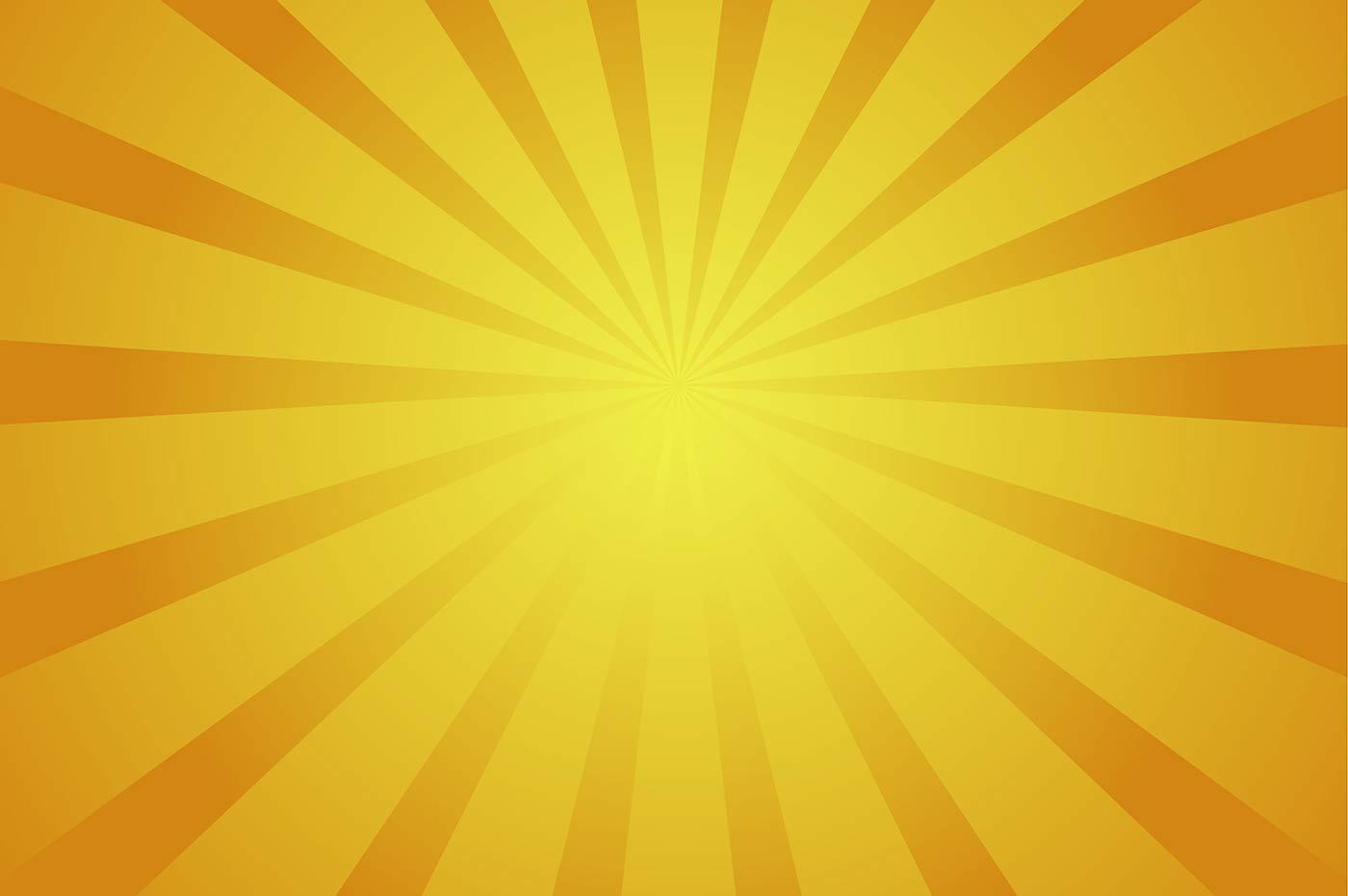 yellow rays vector - photo #13