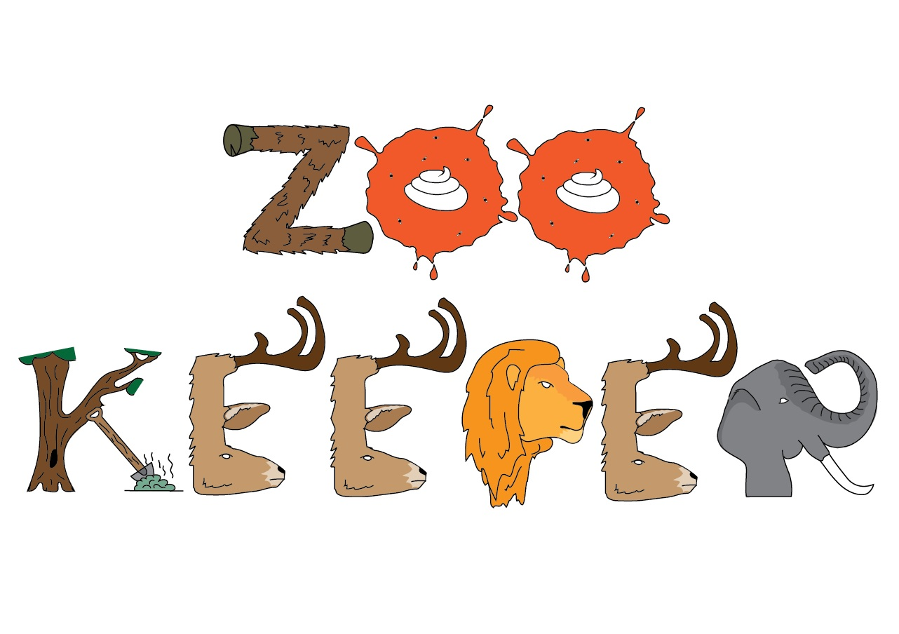 typography zoo zookeeper clipart best clipart best
