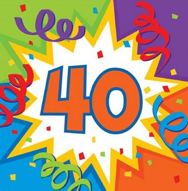 Free Happy 40th Birthday Clip Art - ClipArt Best - ClipArt Best