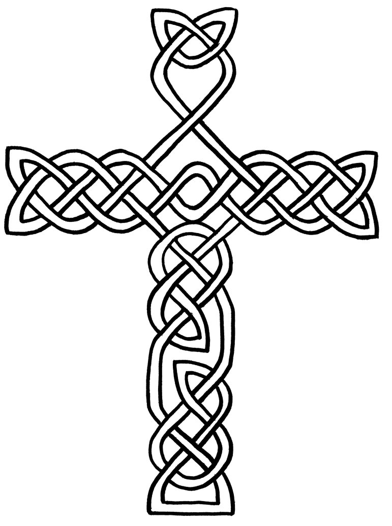 Free Printable Celtic Cross Coloring Pages Clipart Best Coloring Pages Of Crosses