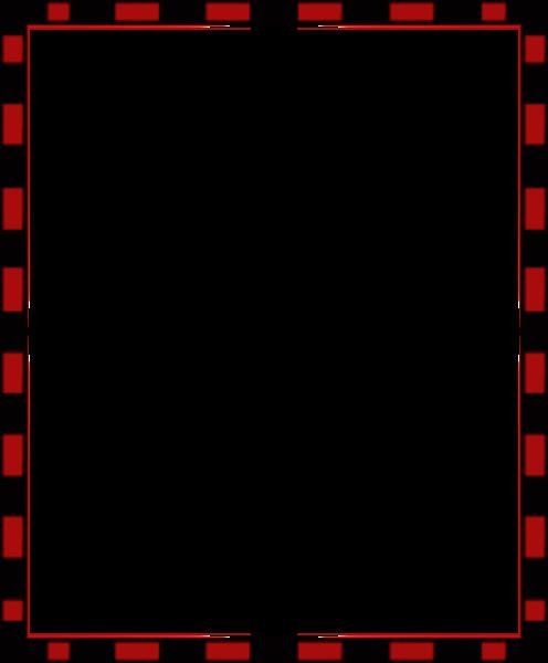 Red Black Free Border Paper image - vector clip art online ...