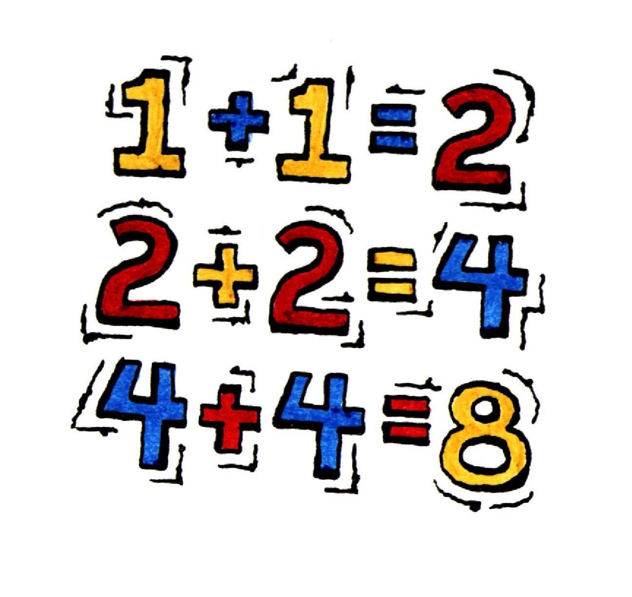 4-Step Math Problem Solving Clip Art: Math Graphics 1 ...  |Art Math Problems