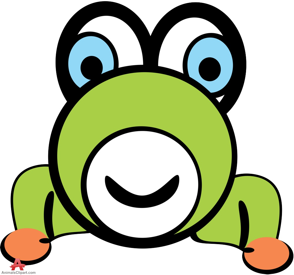 Cute Cartoon Frog - ClipArt Best