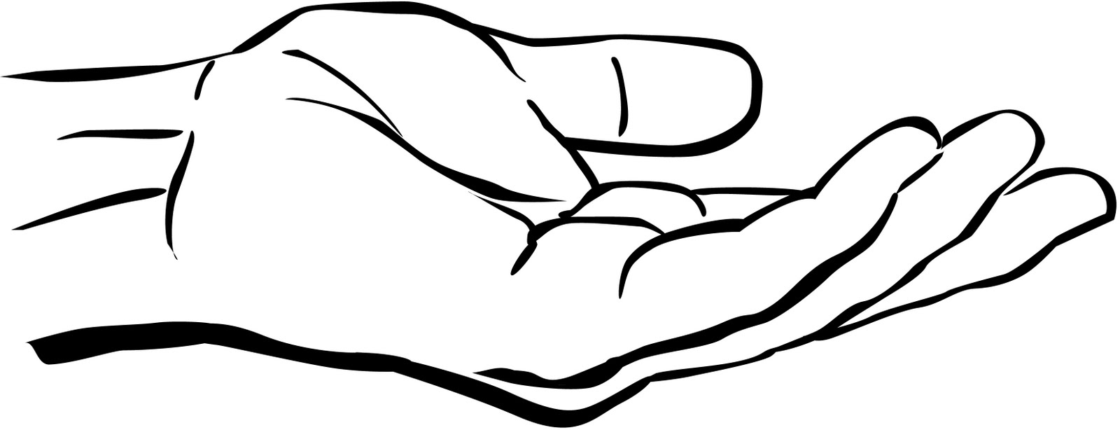 Open Hand - ClipArt Best