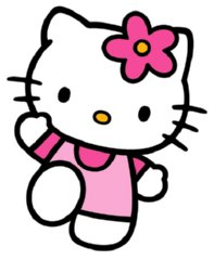 Clip Art Hello Kitty Clipart hello kitty free clip art clipart best images