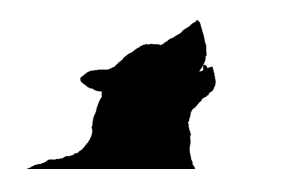 Howling Wolf Silhouette Sitting   www.imgkid.com - The ...