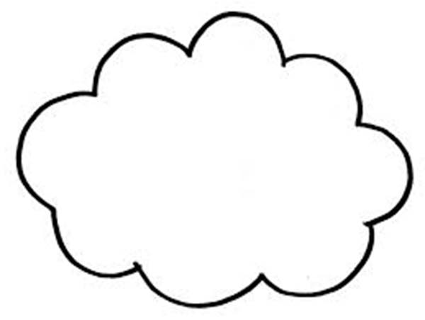 cloud coloring sheet amp snow coloring pages. Black Bedroom Furniture Sets. Home Design Ideas