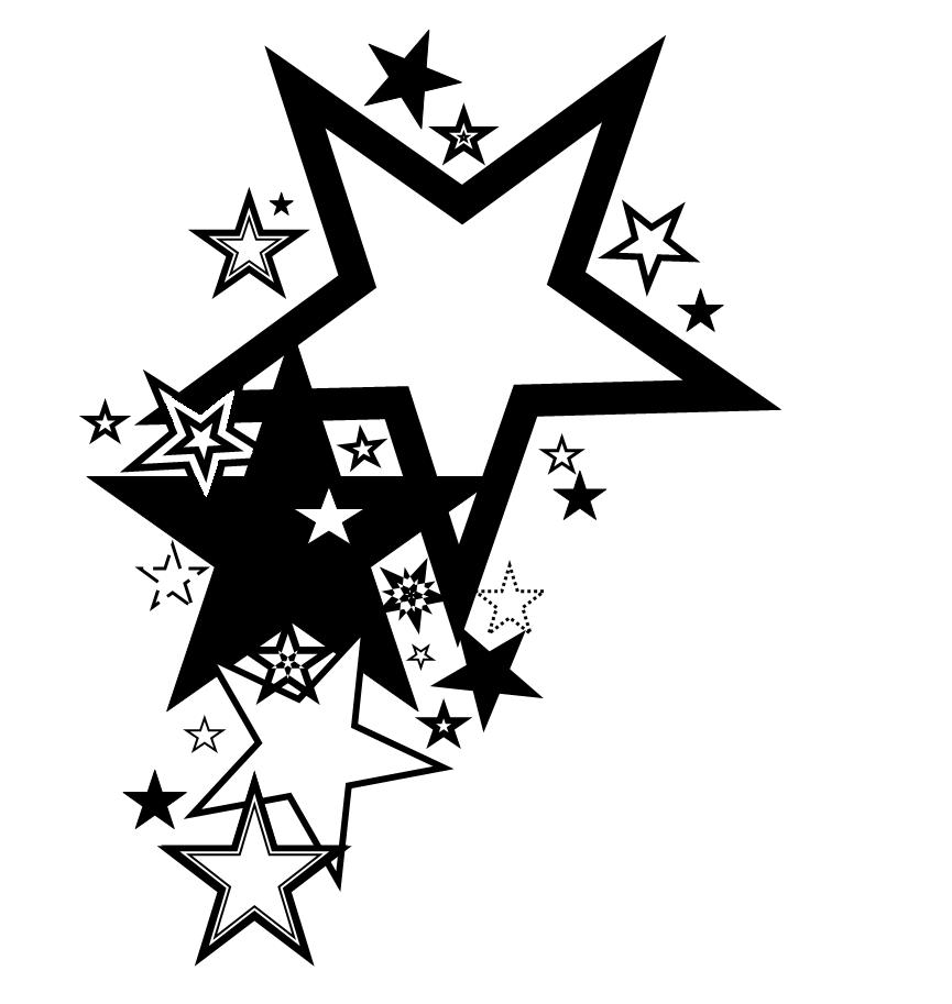 Hearts And Stars Tattoo Designs - ClipArt Best - ClipArt Best